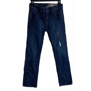 Brand New Volcom Youth Boys jeans size 26 Nova 12 Slim Straight Fit