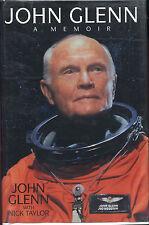 John Glenn signed A Memoir 1st. Ed. 1999 VG+/NF