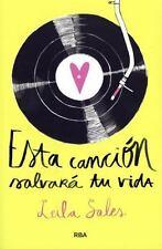 ESTA CANCI=N SALVARß TU VIDA/ THIS SONG WILL SAVE YOUR LIFE
