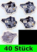 40 Stück Bierdeckel (Serie 10x4=40) Kirner Brauerei Andres Kirn XXL f. Bar Theke