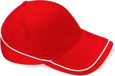 Chapeaux rouge pour garçon de 2 à 16 ans en 100% coton