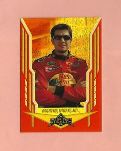 2008 Press Pass Stealth Chrome Exclusives Gold #33 Martin Truex Jr. 48/99