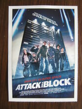 Filmplakatkarte cinema  Attack the Block   John Boyega, Jodie Whittaker