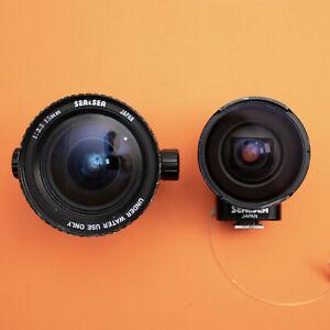 Sea & Sea 15mm f/3.5 (+Viewfinder) Ultra-wide Lens for NIKONOS Underwater Camera
