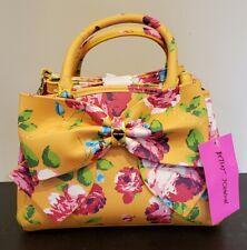 Betsey Johnson Mini Bow Satchel Must Floral