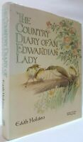 The Country Diary of an Edwardian Lady Edith Holden illustrated wildlife book HB