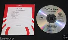 TING TINGS 'WE STARTED NOTHING' 2008 ADVANCE CD