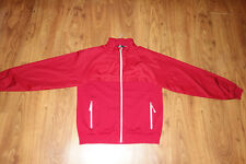 GREAT ERMENEGILDO ZEGNA SPORT  JACKET, RED  SIZE L, COTTON, EXCELLENT CONDITION