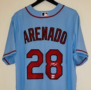 Nolan Arenado signed Cardinals autograph Nike MLB Throwback Jersey FANATICS COA