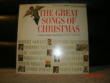 Columbia SP XTV-88656 Various Artists - Goodyear - The Great Songs Of Christmas