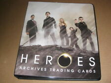 Heroes Archives Trading Card Binder Album