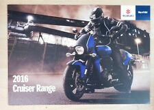 Suzuki Street Brochure 2016 inc GSX-S1000//A GSR750//A Bandit 1250S GSX1250FA