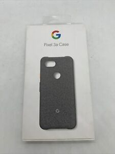 Official Genuine Google Pixel 3a Fabric Case Cover Fog Grey PRP £34.99