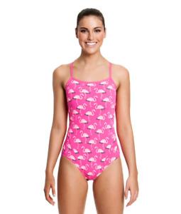 Funkita Ladies 16 Flaming Go Go's One Piece Swimming Training Suit