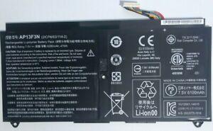 Battery AP13F3N (2ICP4/63/114-2) Acer Aspire S7-392 S7-393 genuine Acer part
