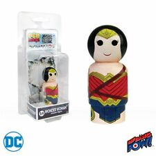 Justice League Movie Wonder Woman Pin Mate Wooden Figure
