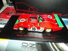Red Line 1/43 Ferrari 312 PB#16 2nd Le Mans 1973