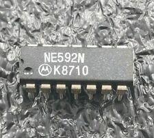 2PCS - Motorola NE592N video amplifier