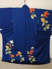 Vintage Japanese Kimono Women Silk TSUKESAGE #KOSHIDA K1702 067