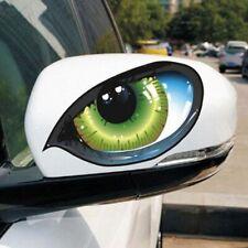 Car Sticker 3D Cat Eyes Design Window Decal Vinyl Funny Waterproof Auto Decal