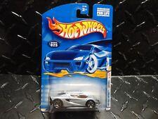 2001 Hot Wheels #25 Silver Lotus M250 w/5 Spoke Wheels