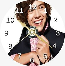 Harry Styles 2 One Direction Novelty Cd Clock Can be personalised