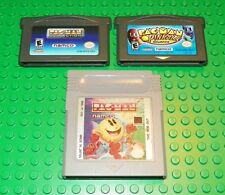 Pac-Man, Pac-Man Pinball & Pac-Man Collection (Nintendo Game Boy Advance, 2001)