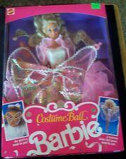 RARE!! HARD TO FIND!! VINTAGE 1990 COSTUME BALL BARBIE NRFB!!! MINT!!!