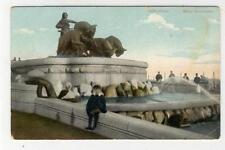 AK Kopenhagen, Kobenhavn, Gefion Brunnen, 1910