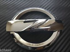 2x 370Z FRONT + REAR CHROME Z LOGO BADGE EMBLEM FOR 370Z 370 Z FAIRLADY 370 Z GT