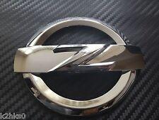2x avant + arrière 370Z chrome Z logo badge emblème pour 370Z 370 Z Fairlady 370 Z GT