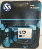 Sealed Genuine HP 932 Ink Cartridge Black 932 SEALED Warranty: 09-10/2019+