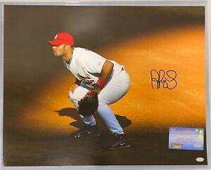 Albert Pujols Cardinals Signed 16x20 Photo Autographed AUTO Mounted Memories COA