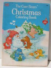 VINTAGE CARE BEAR RARE CHRISTMAS COLORING BOOK  1983