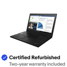 "Lenovo ThinkPad T560 15.6"" Full HD i5-6300U 8GB 256GB SSD Cámara web Win10 Pro Garantía"
