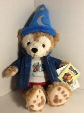 DISNEY PARKS 2016 DUFFY the Disney Bear Sorcerer plush toy NEW with TAGS