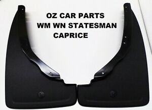 FRONT MUDFLAPS FOR HOLDEN COMMODORE WM WN STATESMAN CAPRICE 2007-2017 GENUINE