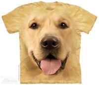 New The Mountain Big Face Golden Retriever T Shirt