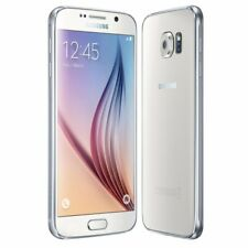 Samsung Galaxy S6 SM-G920F - 32GB - White Pearl (Ohne Simlock) Smartphone (SM-G920FZWADBT)
