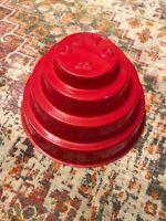 DEVO Original Red Energy Dome Rare! Freedom Of Choice 1980/1981 Era Rock Punk