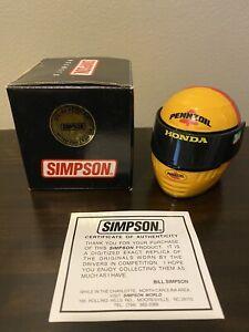Gil de Ferran Limited First Edition Simpson Indycar Mini Helmet 1/4 Indy 500