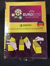Panini Euro 2012 Stickers Box of 100 packs German Edition / Sealed New BOX
