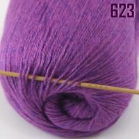 Sale New 1 Skein x50gr Soft Pure Cashmere Hand Wool Shawl Scarf Knitting Yarn 23