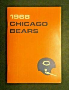 Gale Sayers Brian Piccilo 1968 Chicago Bears Media Guide