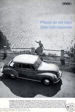 DKW Auto Union la pubblicità di 1954 Pubblicità aerodinamica Politecnico di Monaco navl