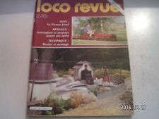 **j Loco Revue n°455 Un poste haut en O / un écartement bien vivant : Le 7