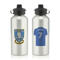 Personalised SHEFFIELD WEDNESDAY Football Club FC Sports Water Bottle Sport Gift