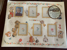 VINTAGE School Days Photo MAT FOR FRAME ~ Pictures Grades 1-6  - Never Used