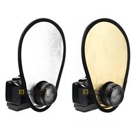MEKING 2in1 30cm Gold/Silver Portable Folding Handheld Photograph Reflector
