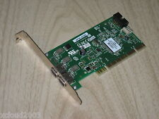 Dell HP AFW-2100 2 Port Firewire IEEE 1394 PCI card ASSY 2086506 PCA-00214-01-A